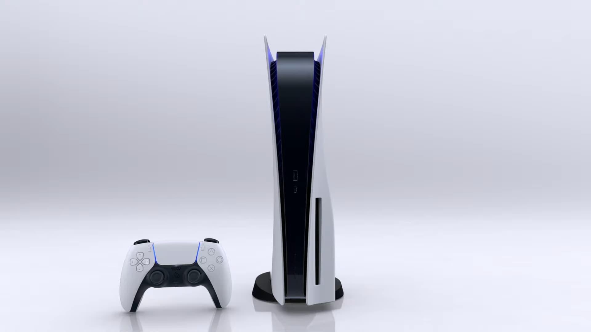 PS5 ufficiale console aspetto (1)