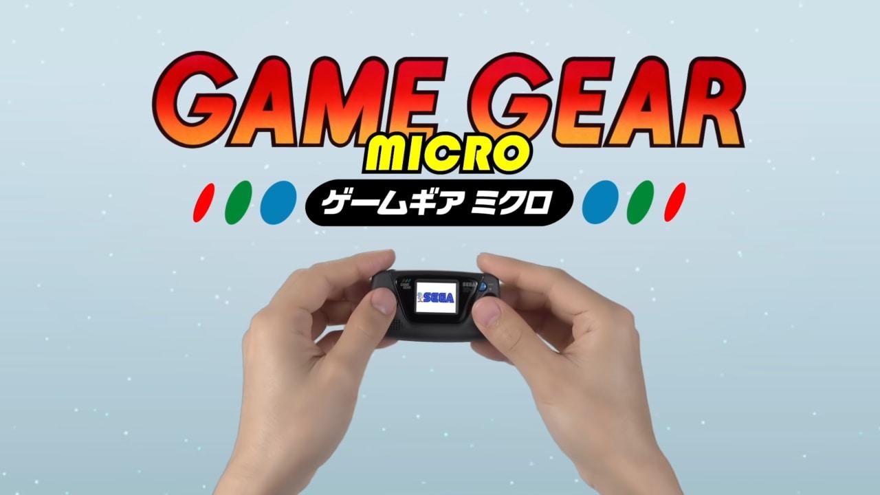 L'annuncio di SEGA era davvero un mini-console: ecco SEGA Game Gear Micro (foto e video)