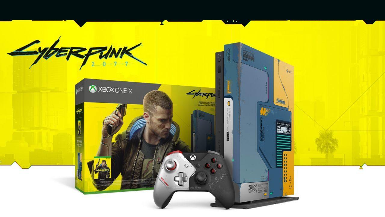 Xbox One X in edizione Cyberpunk 2077 già in sconto: il prezzo è sorprendente