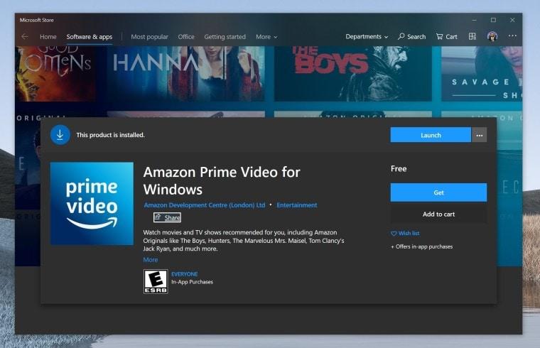 Buone nuove per Windows: in arrivo l'app di Amazon Prime Video (aggiornato)
