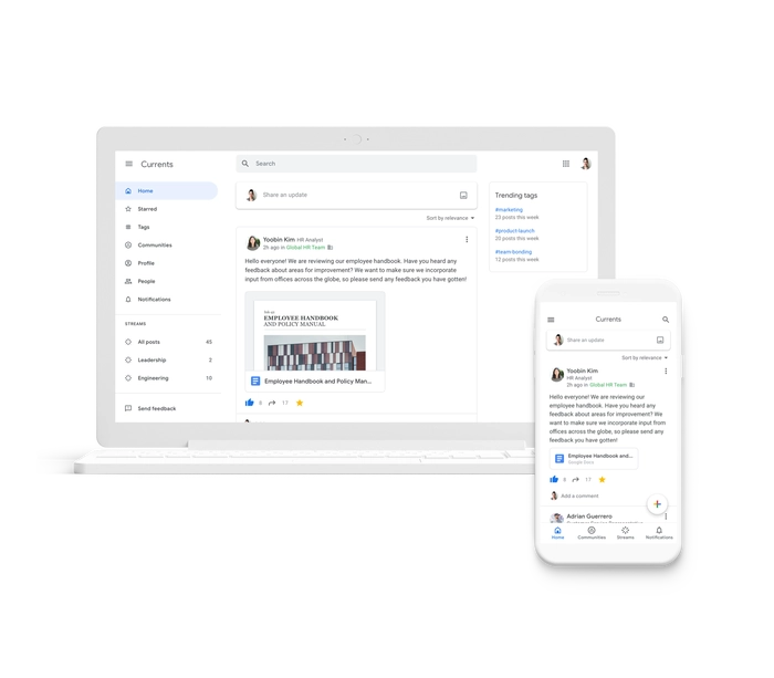 Google Currents, nato sulle ceneri di Google+, è pronto a debuttare il prossimo 6 luglio
