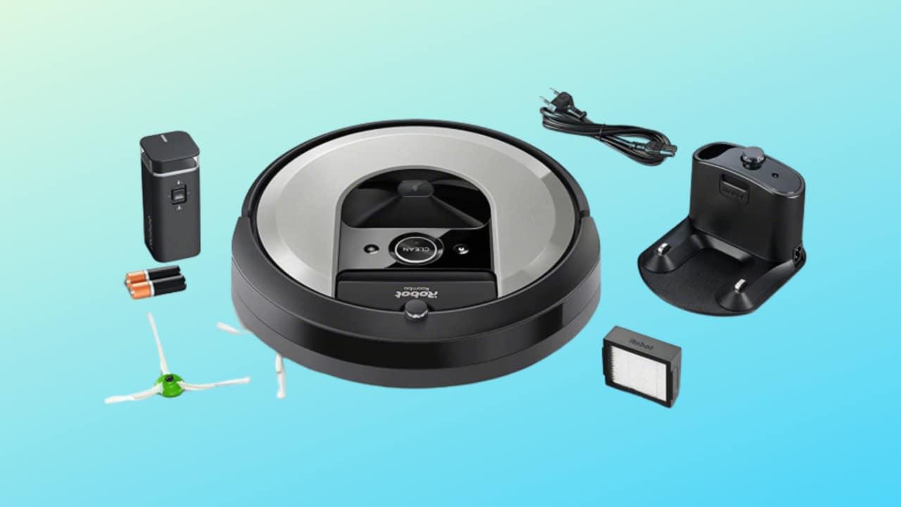 Robot di pulizia premium in super offerta? 300€ di sconto su iRobot Roomba i7156