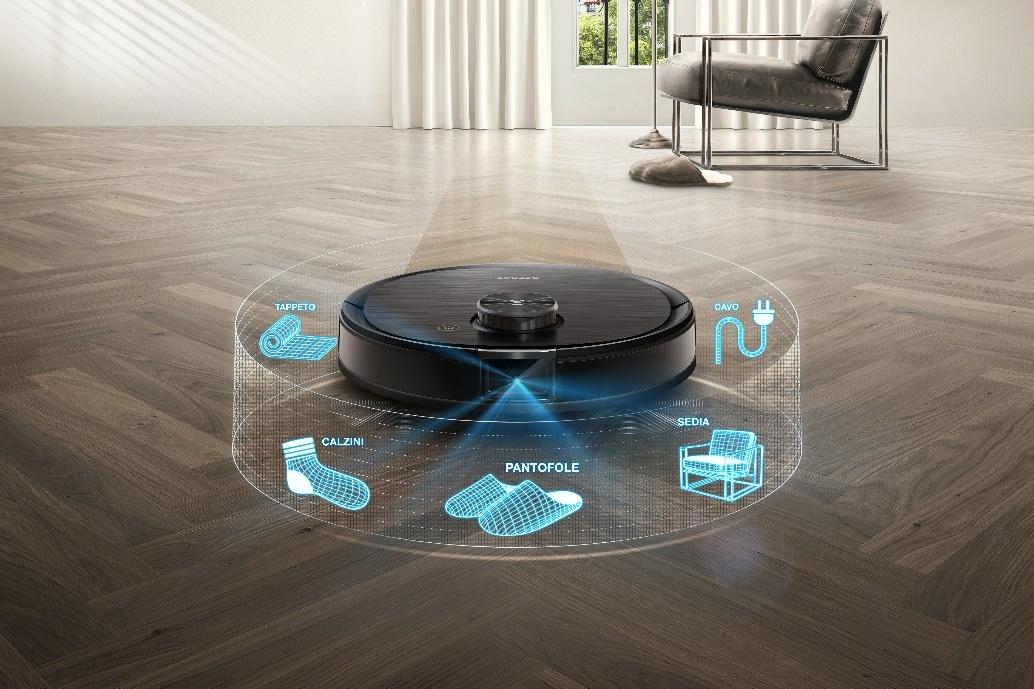 Ecovacs svela Deebot Ozmo T8+: robot aspirapolvere che vi risparmia anche la fatica di svuotare il serbatoio (foto)