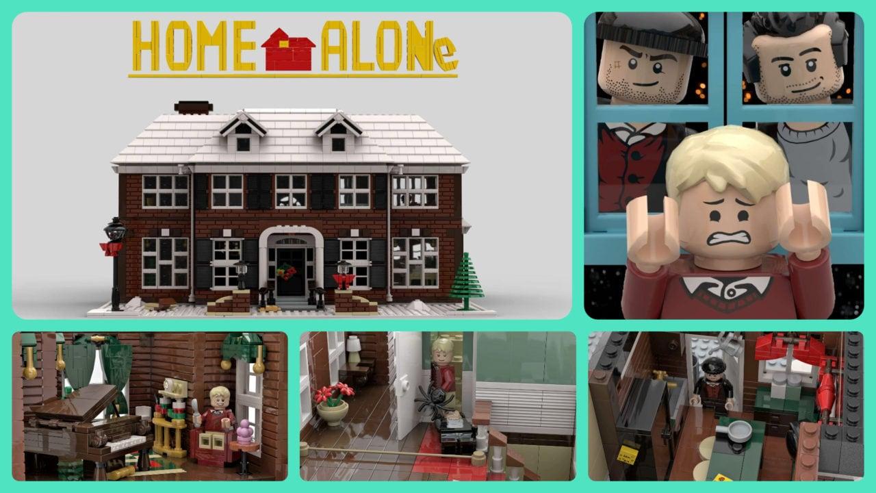 Il set LEGO di Mamma, ho perso l'aereo è realtà, verrà realizzato da LEGO nei prossimi mesi! (foto e video)