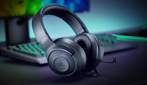 Razer Kraken X in offerta speciale su Amazon a 40€: cuffie Surround 7.1 per PC e console