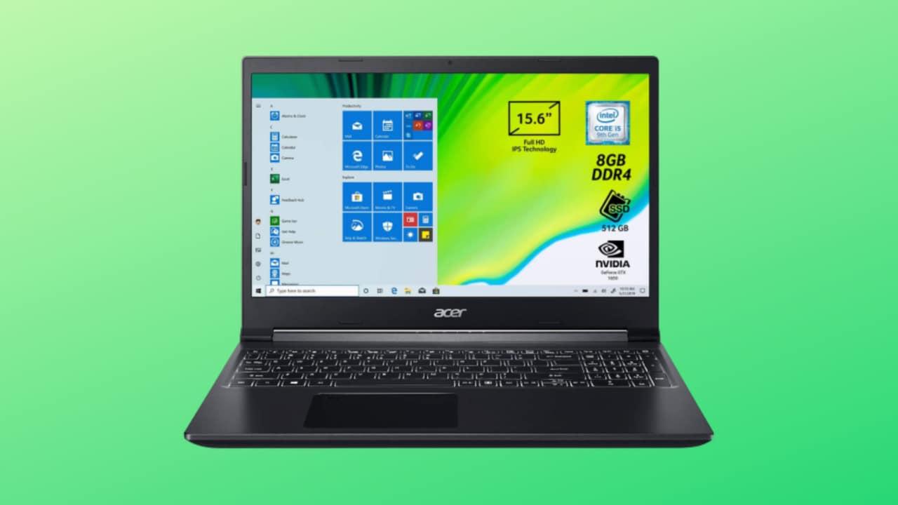 Acer Aspire 7 mai visto a questo prezzo! GPU GeForce, Intel i5 e cornici sottili