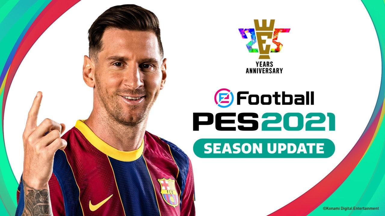 eFootball PES 2021 SEASON UPDATE arriva a metà settembre, tutti i dettagli e le modalità di acquisto