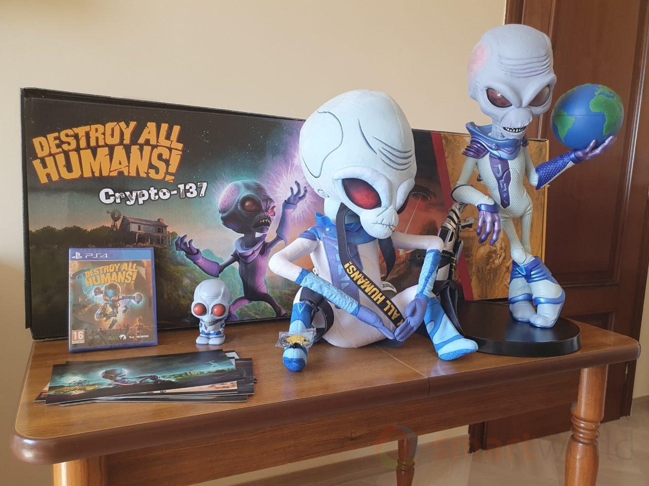 Abbiamo unboxato Destroy All Humans! Ecco cosa contiene l'edizione da 400€