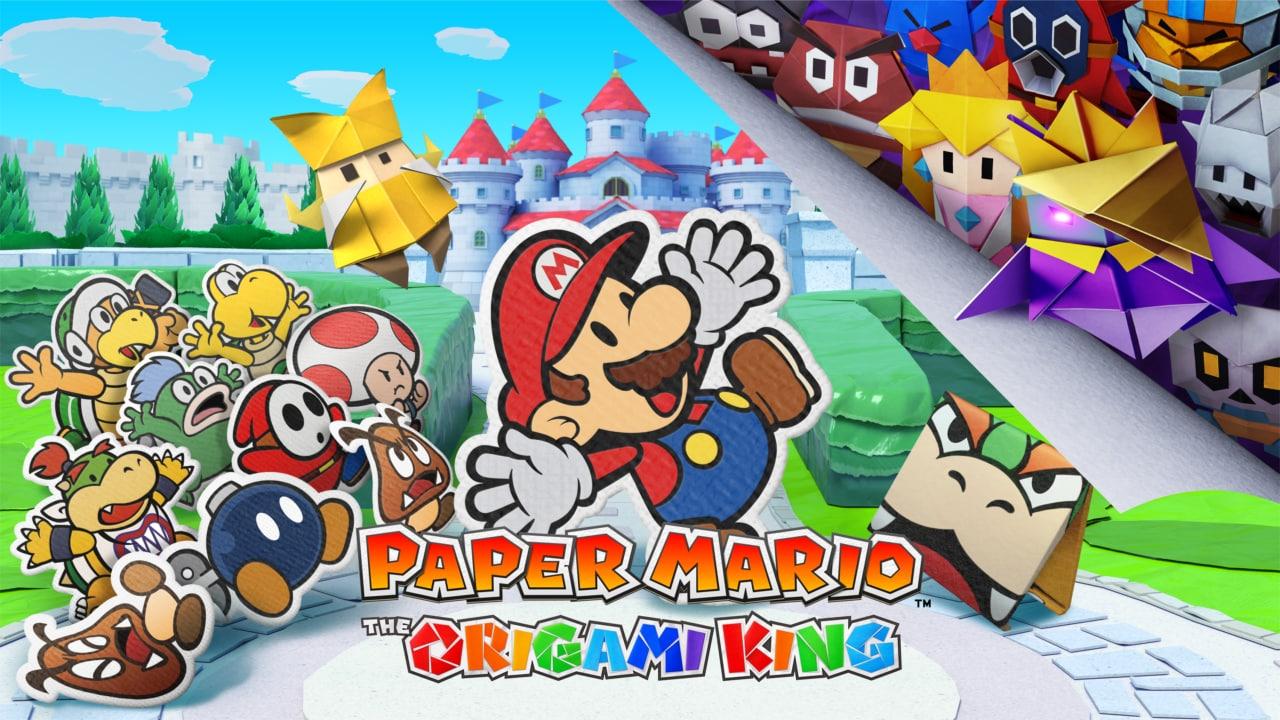 Paper Mario: The Origami King, il nuovo cartaceo gioco da oggi disponibile su Nintendo Switch (video e foto)