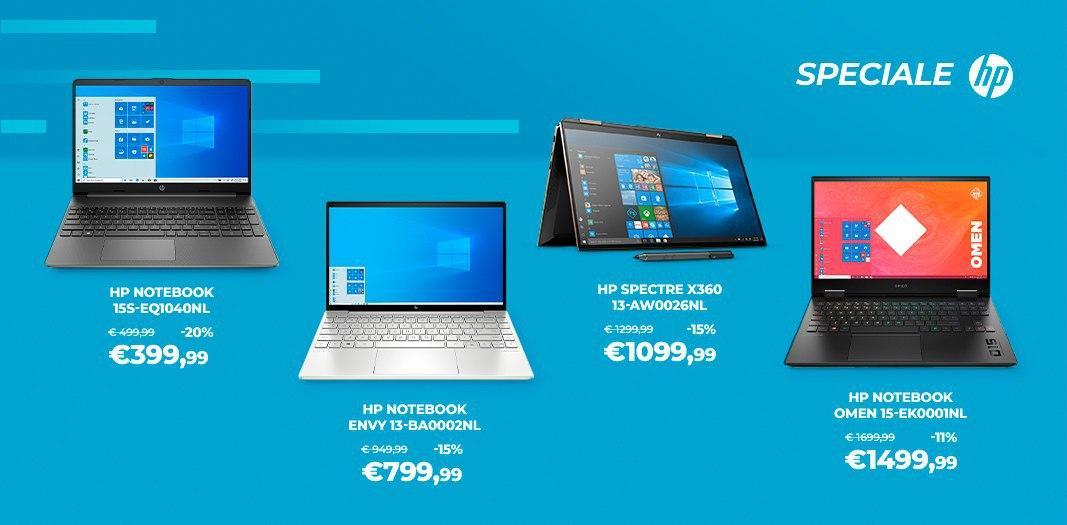 """Offerte Unieuro """"HP Days"""": PC, notebook e accessori fino al 42% di sconto"""