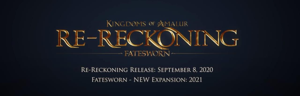 A settembre arriva il remake di Kingdoms of Amalur: Reckoning con tanto di nuova espansione inedita! (video)