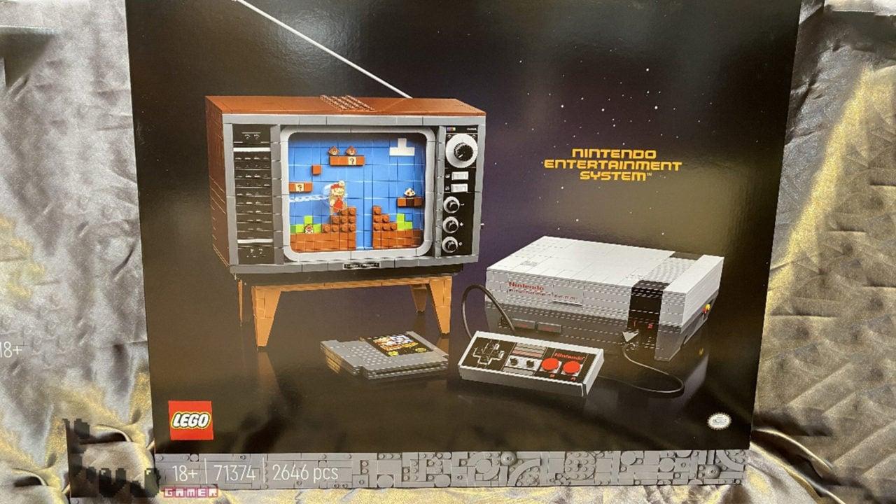 LEGO Nintendo NES è il prossimo set che vorrete acquistare a occhi chiusi (foto)