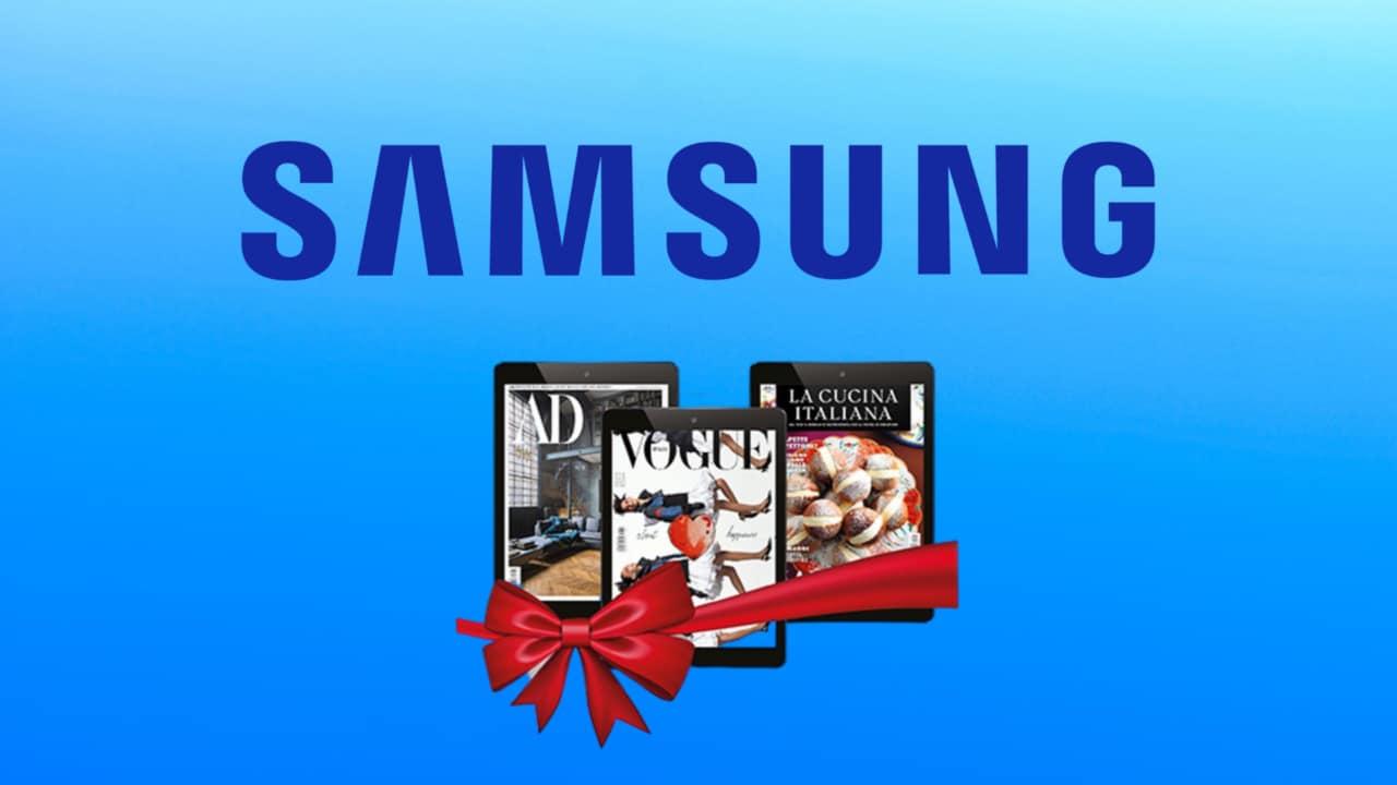 Samsung vi fa un regalo, ma per richiederlo? Be', basta una recensione!