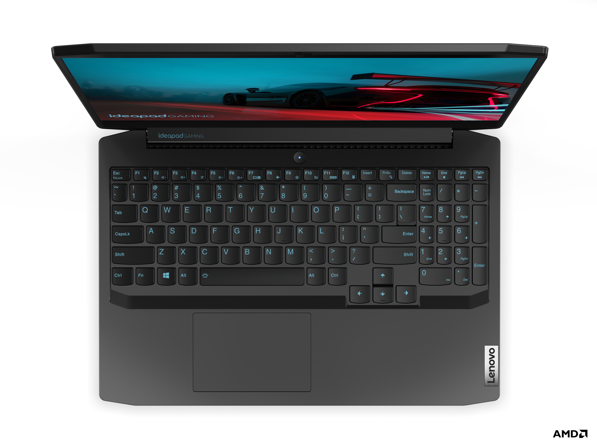 Lenovo IdeaPad Gaming 3_15inch_AMD_Top_View_Black