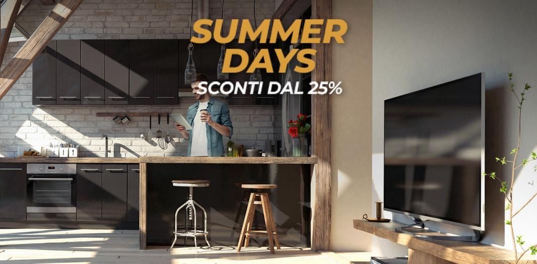"""Offerte Unieuro """"Summer Days"""": Smart TV e non solo a partire dal 25% di sconto"""