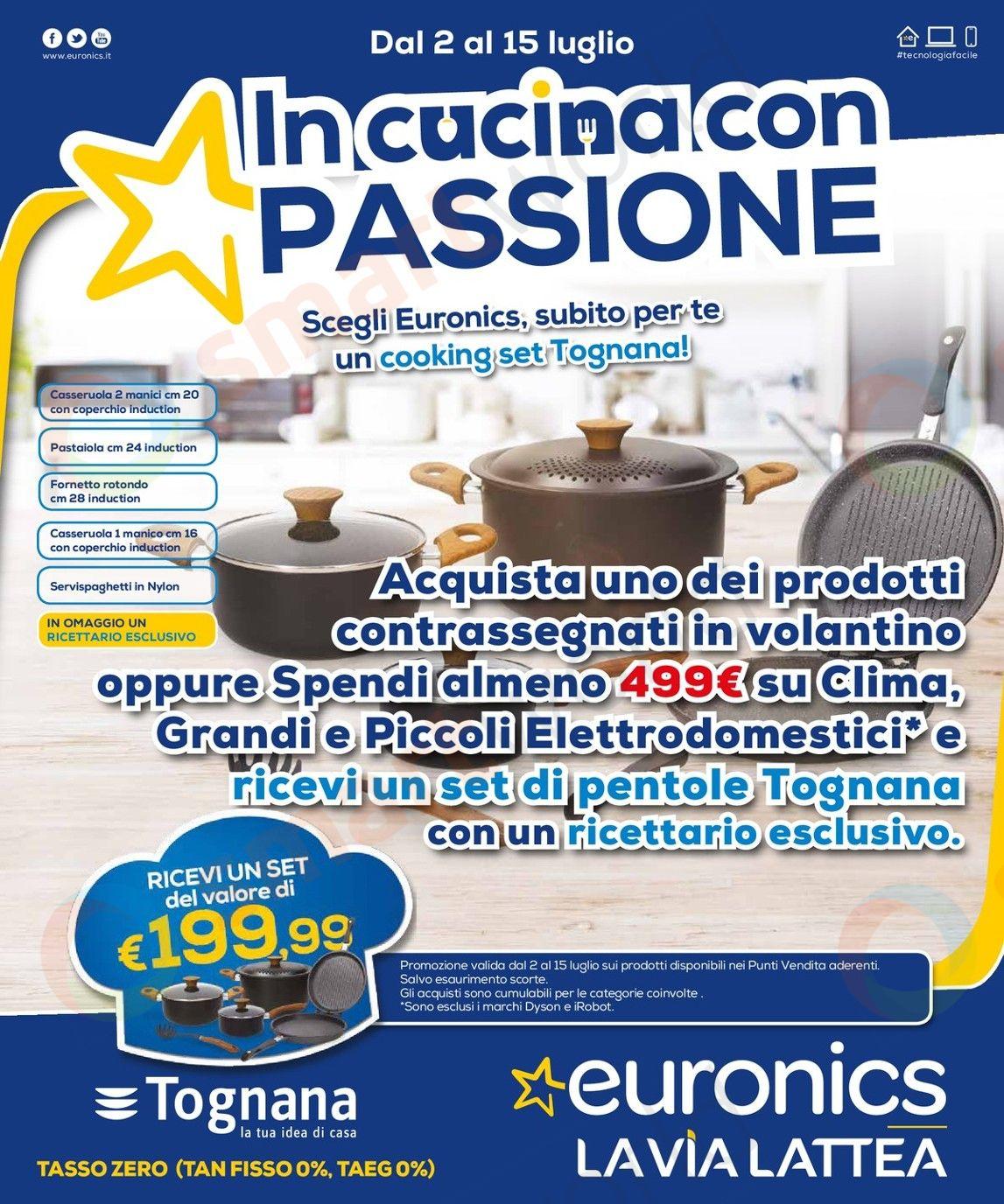 Volantino Euronics In Cucina con Passione – La Via Lattea (1)