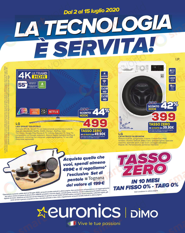 Volantino Euronics La Tecnologia è Servita! – DIMO (1)