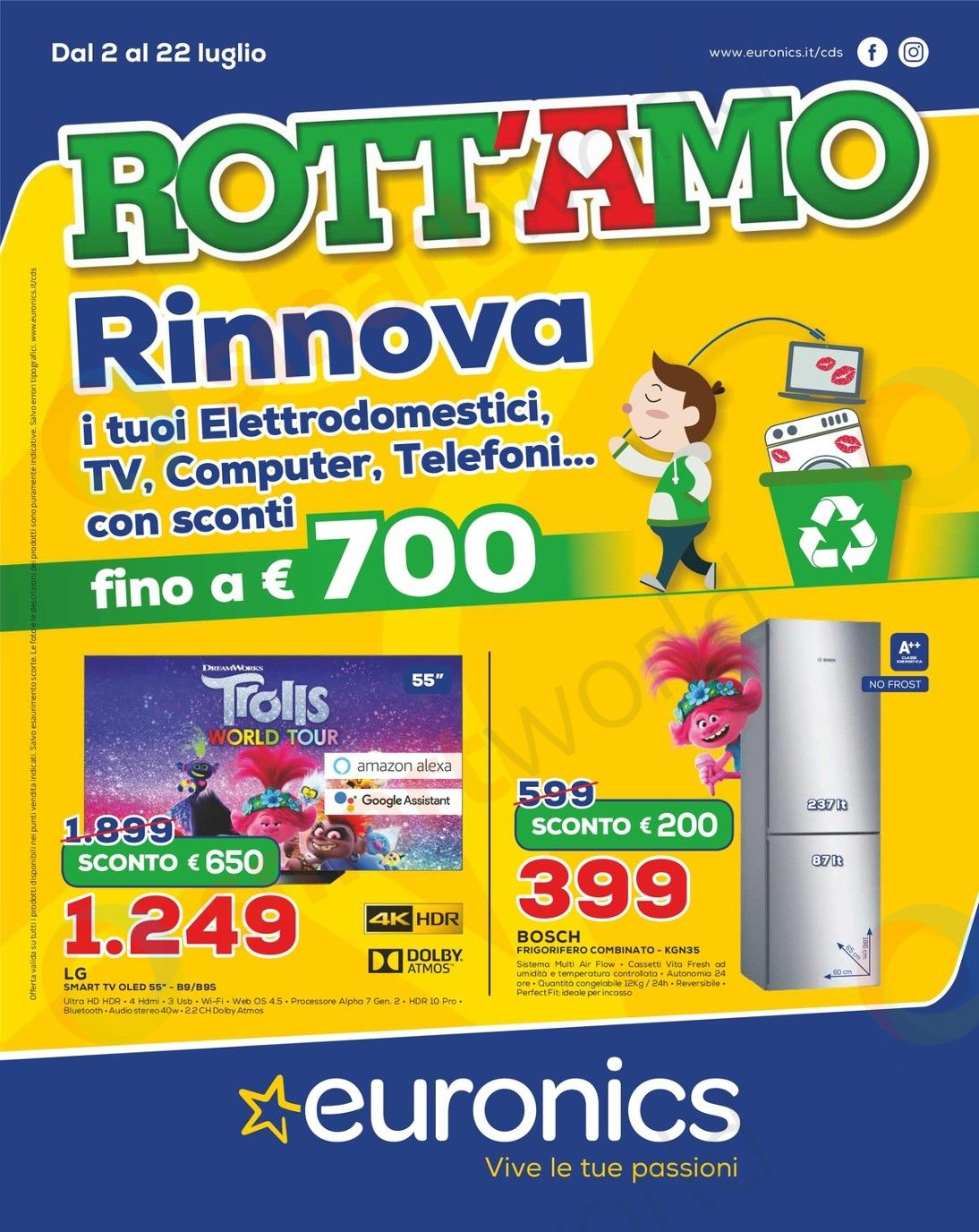 Volantino Euronics Rott'Amo – CDS (1)