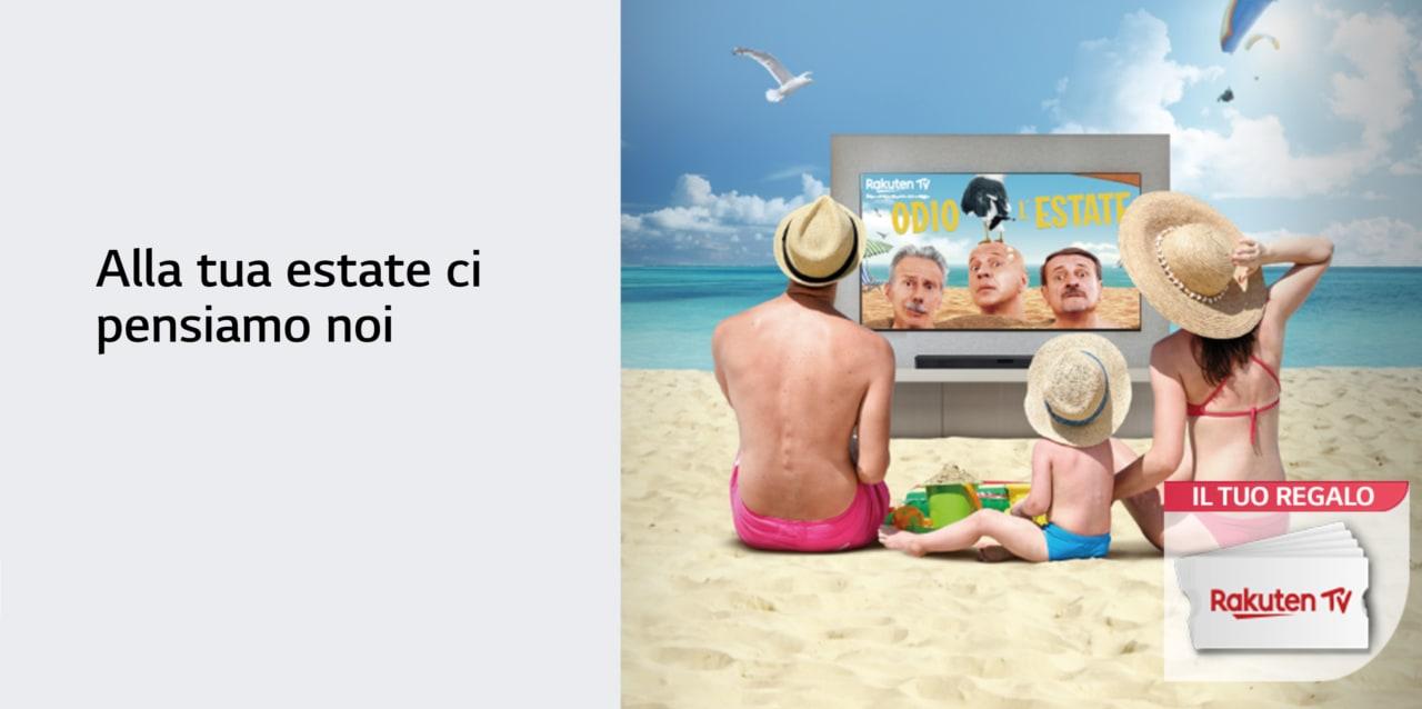 Voucher Rakuten TV in regalo per chi compra uno Smart TV LG