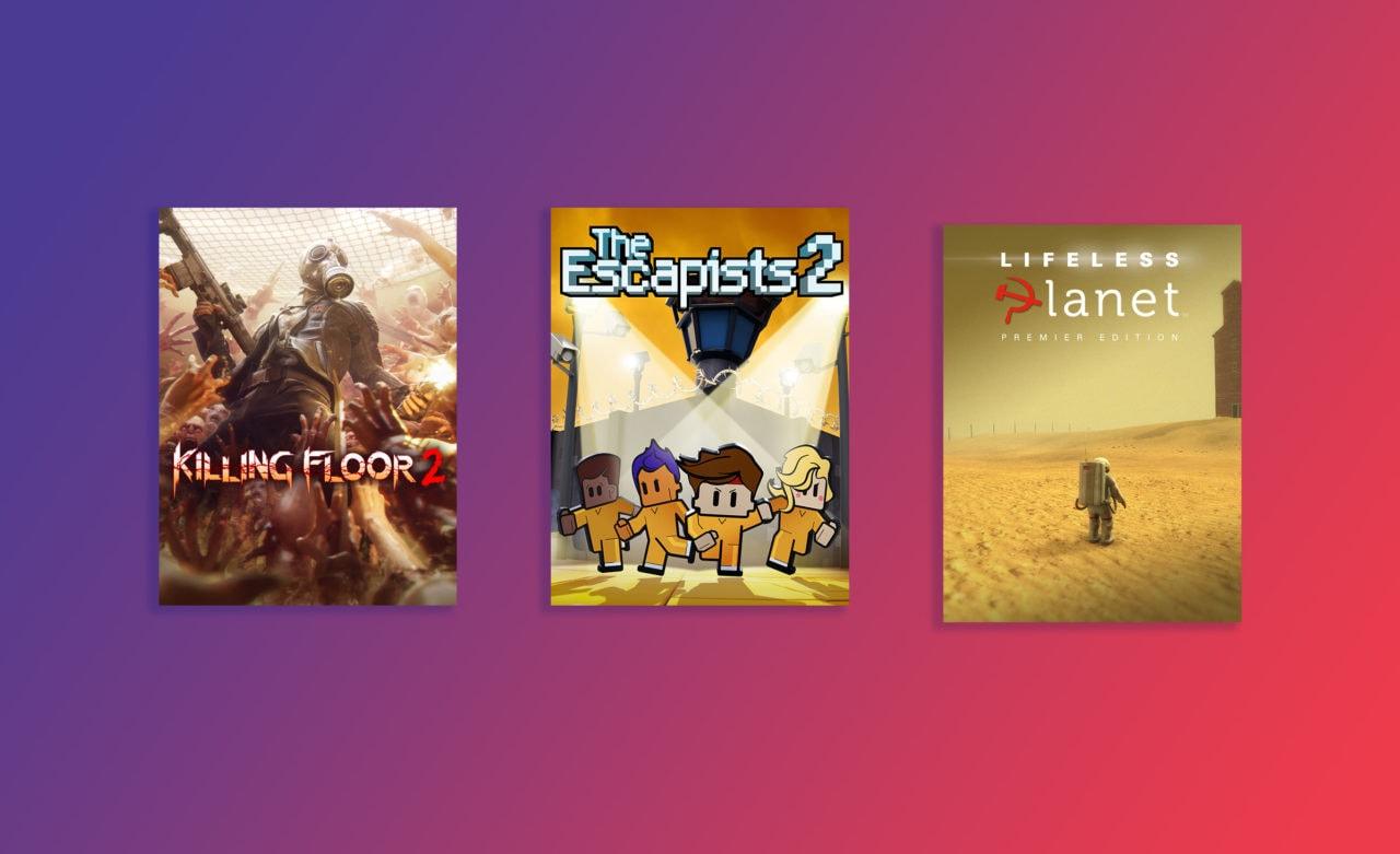 Killing Floor 2, The Escapists 2 e Lifeless Planet gratis su Epic Games Store fino al 16 luglio (foto e video)
