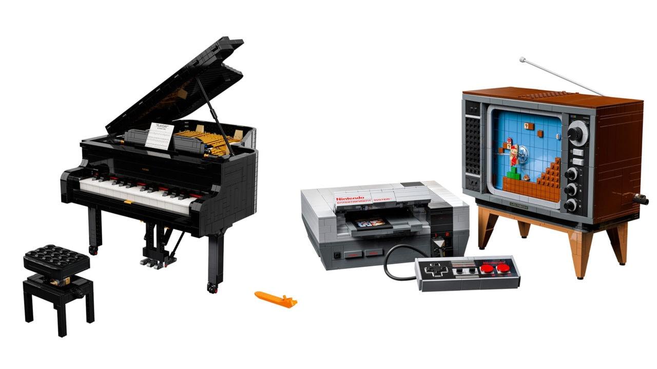 Disponibili da oggi i bellissimi set LEGO Super Mario, Pianoforte a coda e i nuovi LEGO Art! (foto)