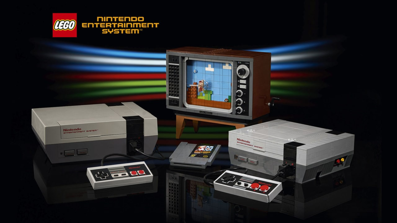 Il set LEGO Nintendo NES è ufficiale: in Italia dal 1 agosto, ed è ancora più bello del previsto (foto e video)