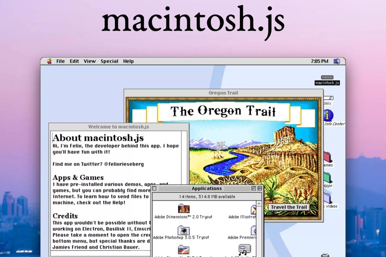 Altro che macOS Big Sur: tornate al 1997 e installate Mac OS 8 su Mac, PC e Linux!