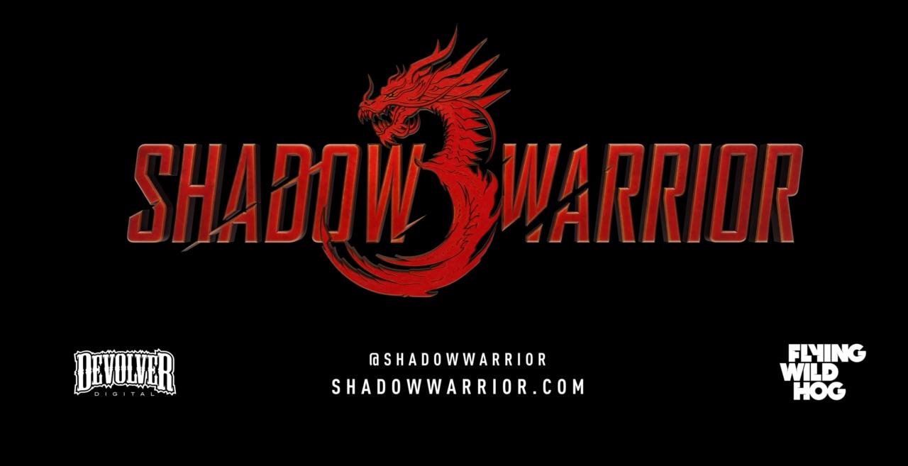 Annunciato Shadow Warrior 3 con tanto di sanguinolento trailer!