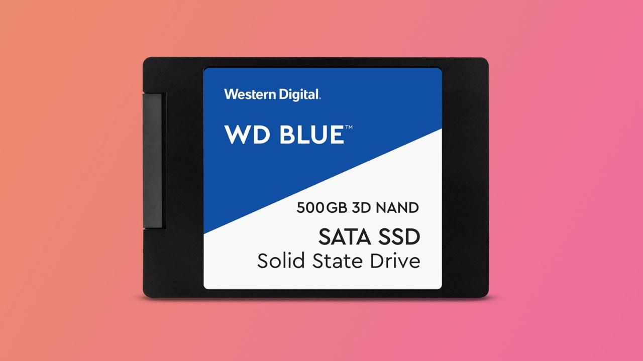 Super prezzo per WD Blue SSD da 500 GB: in sconto a 57€ su Amazon