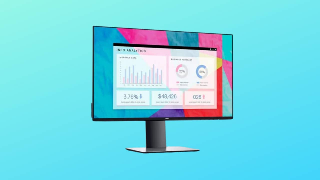 """Monitor Dell Ultrasharp da 24"""" al miglior prezzo: eleganza e ottime prestazioni"""