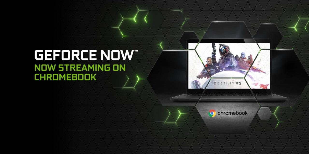 NVIDIA GeForce NOW da oggi in beta anche su Chromebook!