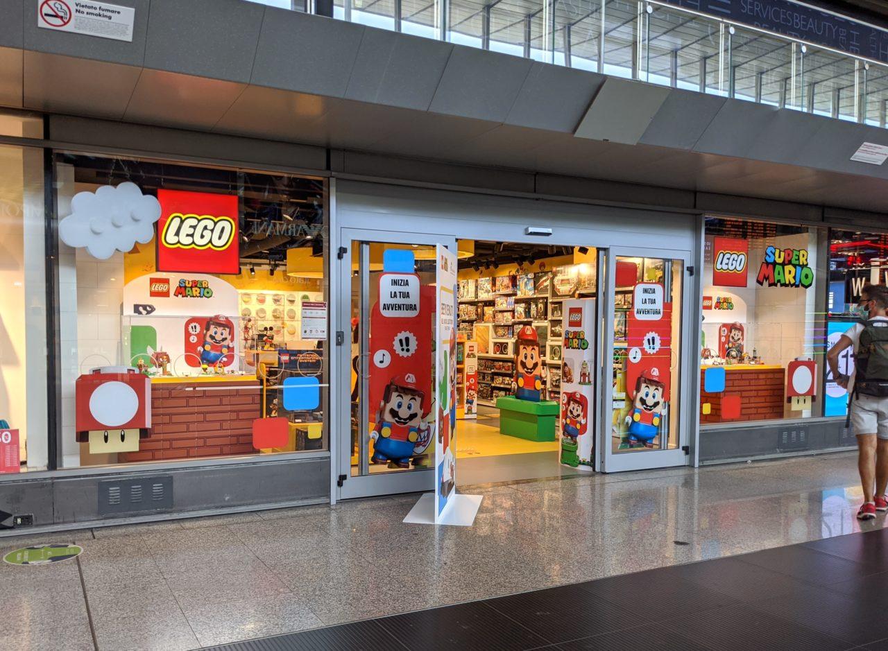 LEGO apre il primo store d'Europa dentro una stazione a Roma