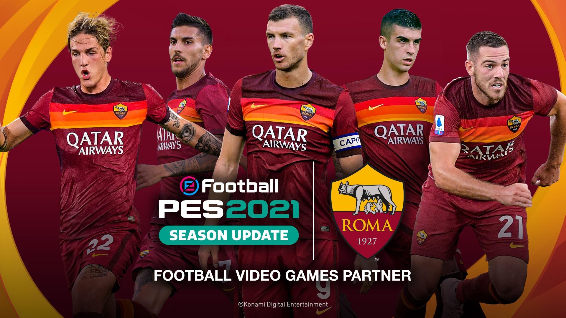 PES2021_AS-ROMA_5-Players_Photo-Visual