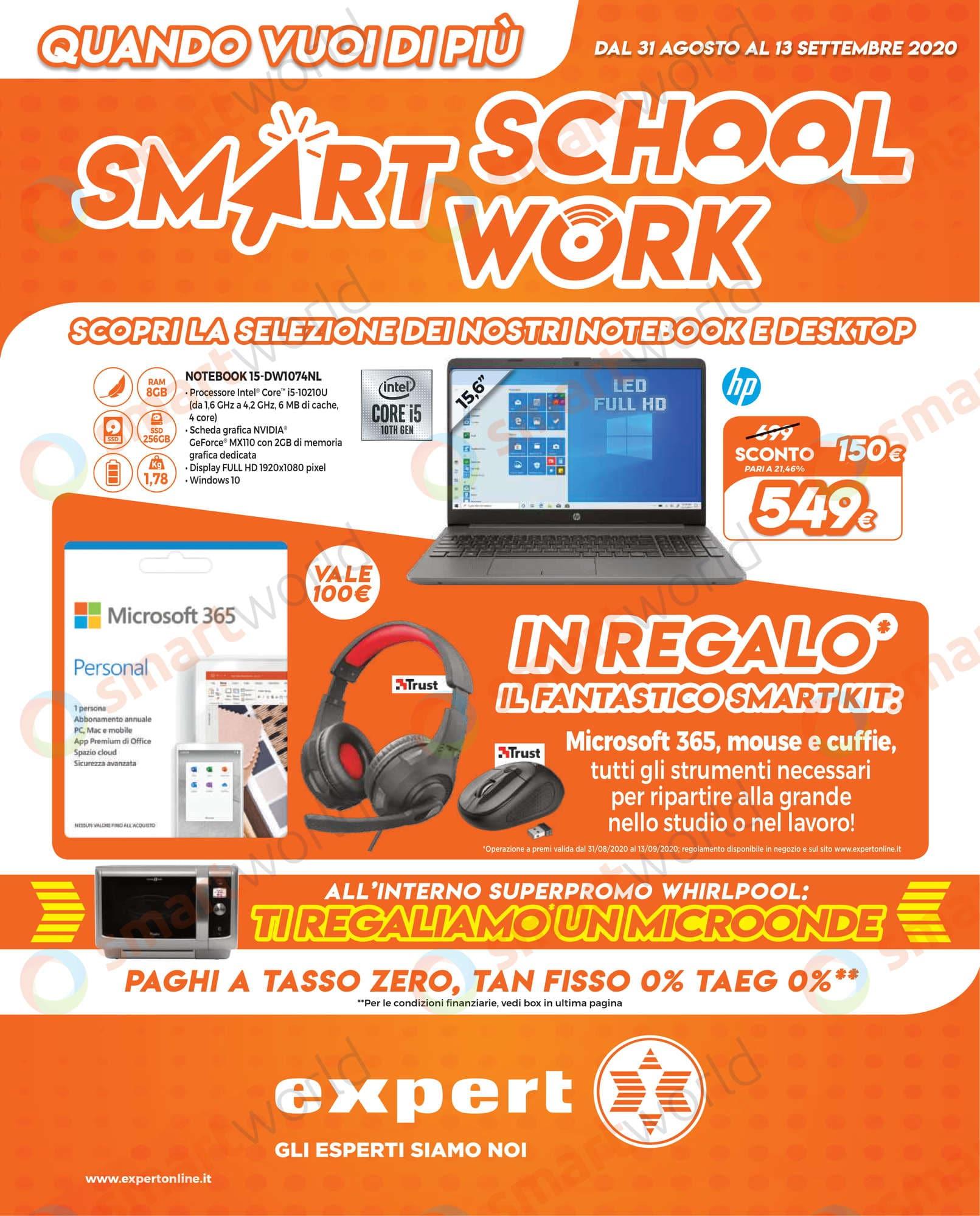 Vol SMART SCHOOL SMART WORK 31 ago – 13 sett EXPERT DGGROUP-01_risultato