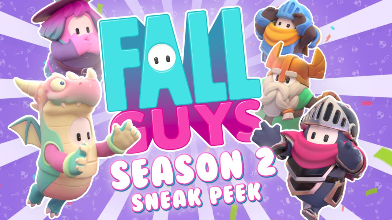 Fall Guys Stagione 2 svelato alla Gamescom: nuove mappe e skin a tema medievale! (foto e video)