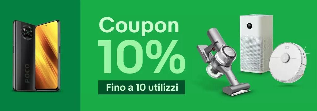 Codice sconto eBay: -10% su tutti i prodotti con questo coupon (aggiornato)