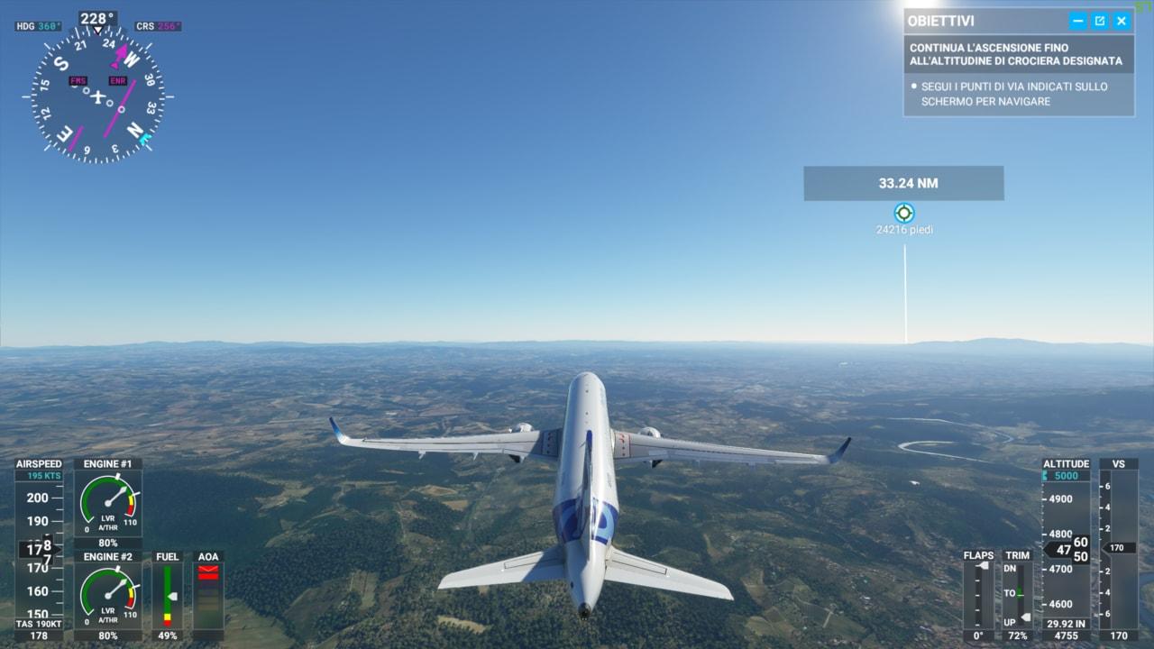 """Microsoft Flight Simulator sta per diventare molto più """"leggero"""" su PC! (anche senza DirectX 12) (video)"""