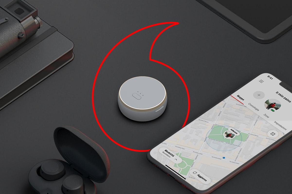 Vodafone lancia Curve un nuovo tracker dotato di Smart SIM: liberi di non perdere più niente