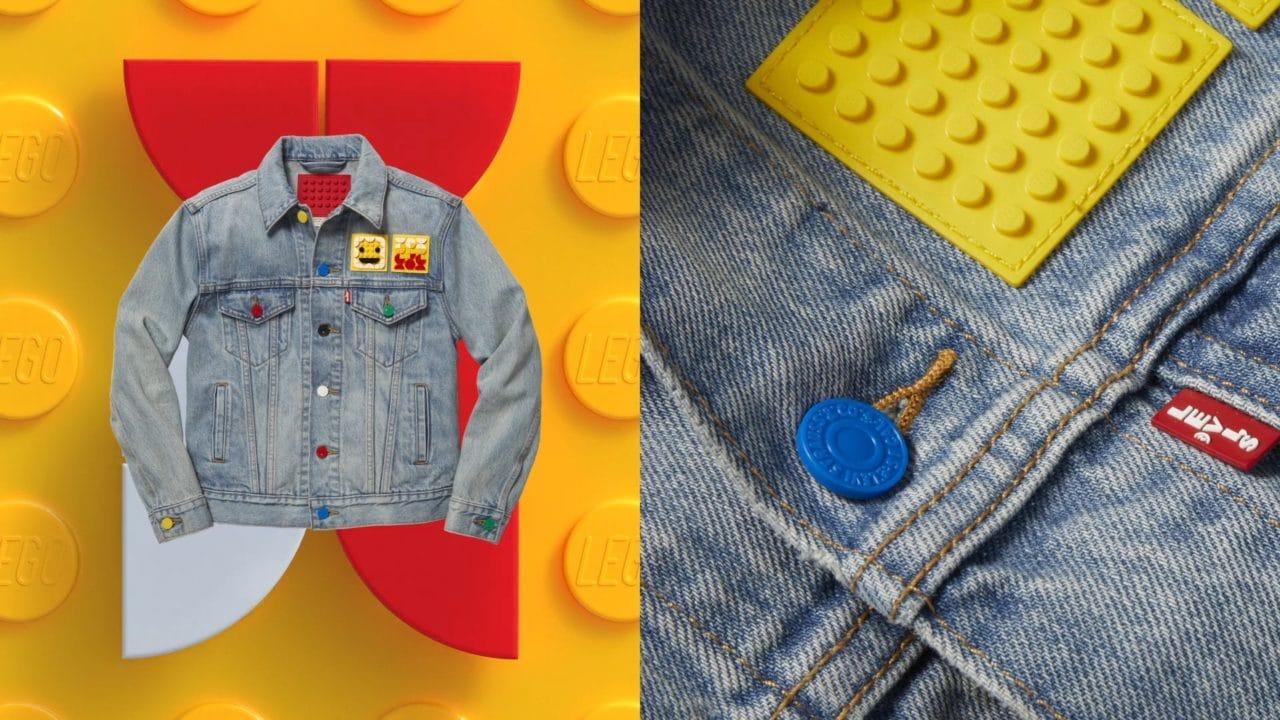 LEGO e Levi's uniscono le forze: nasce la prima collezione con la speciale base flessibile LEGO (foto)