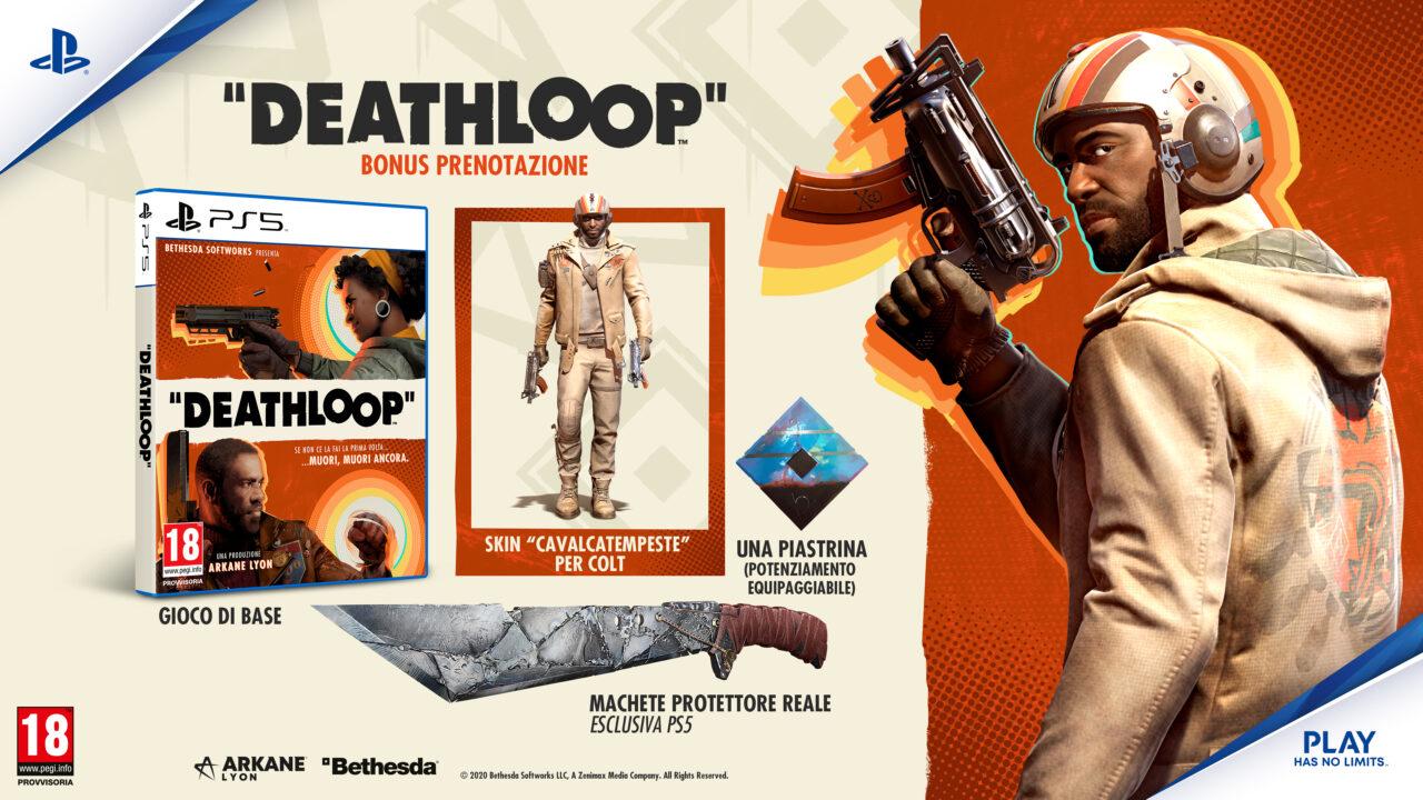 DEATHLOOP arriva su PlayStation 5 il 21 maggio prossimo: aperti i pre-ordini (foto e video)