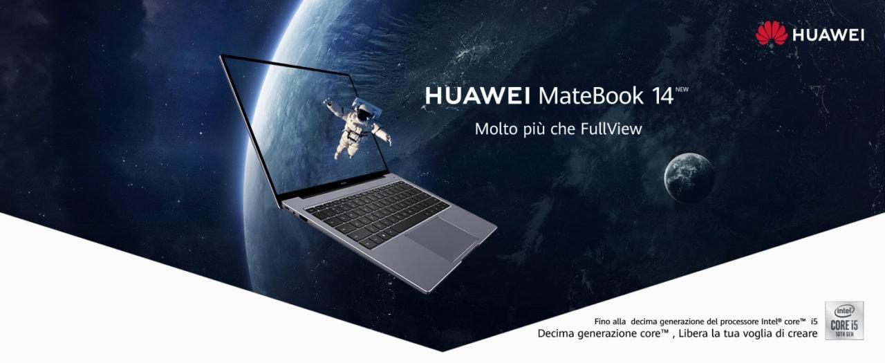 Huawei MateBook 14 è il notebook al giusto prezzo: oggi in offerta Amazon!