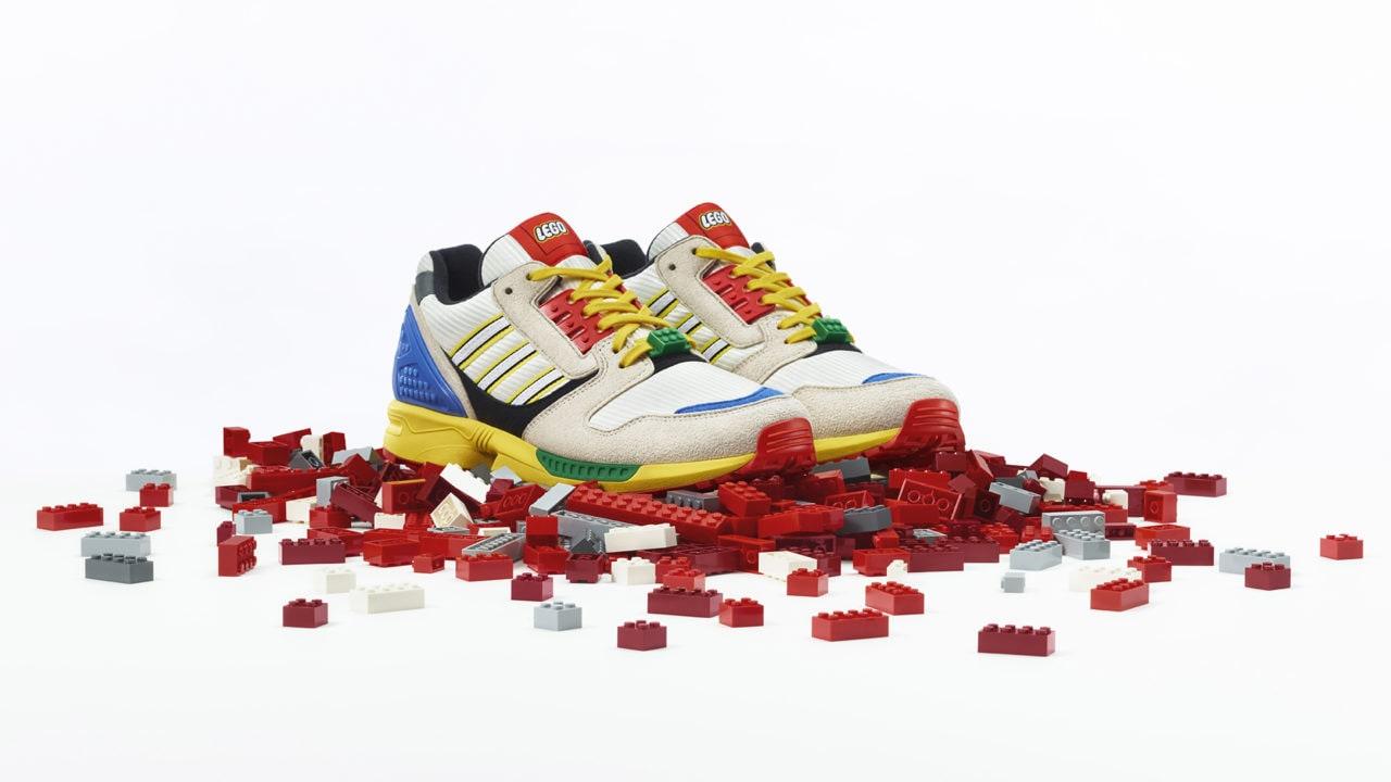 adidas Originals e LEGO per le nuove scarpe ZX8000 in edizione speciale (foto)