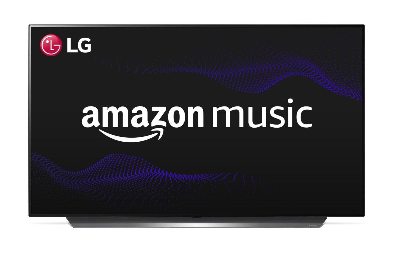 Amazon Music arriva sulle Smart TV LG OLED, NanoCell e LCD