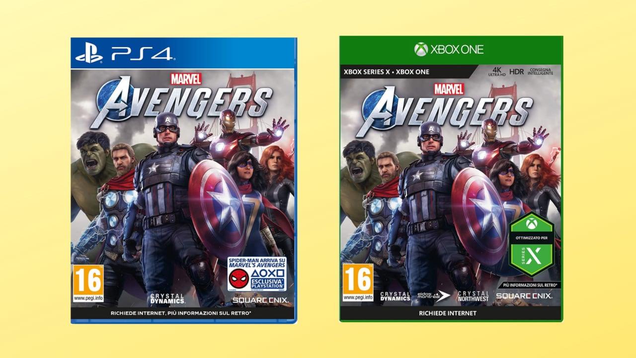 Marvel's Avengers in offerta lancio: edizione esclusiva Amazon a soli 49€