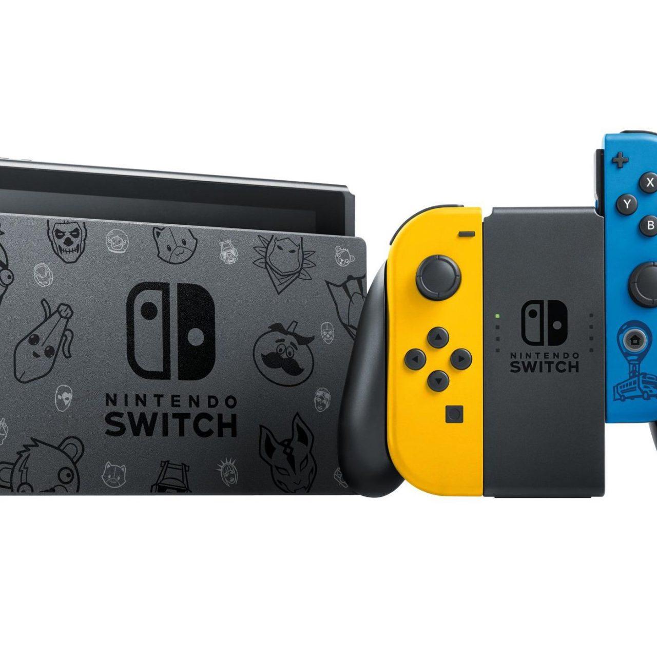 Nintendo Switch si tinge di Fortnite: ecco a voi la nuova Fortnite Edition