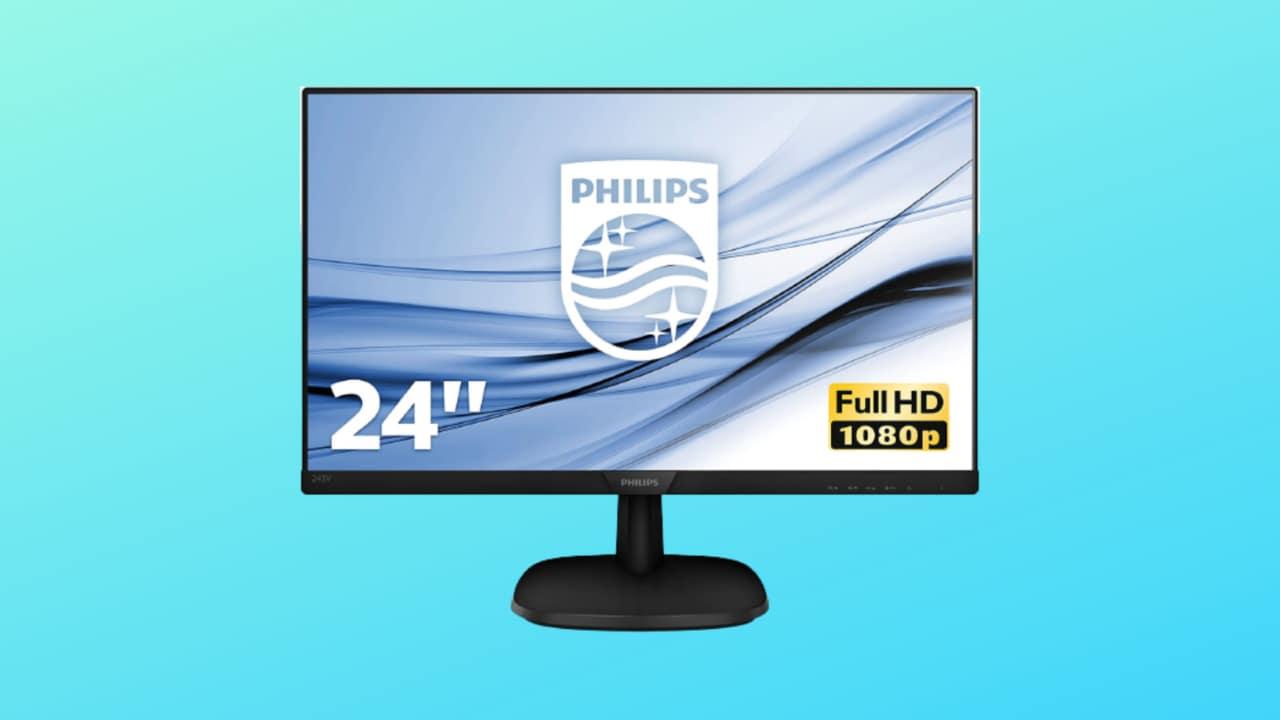 Monitor Philips in offerta su Amazon: 24 pollici, IPS e cornici sottili a 109€