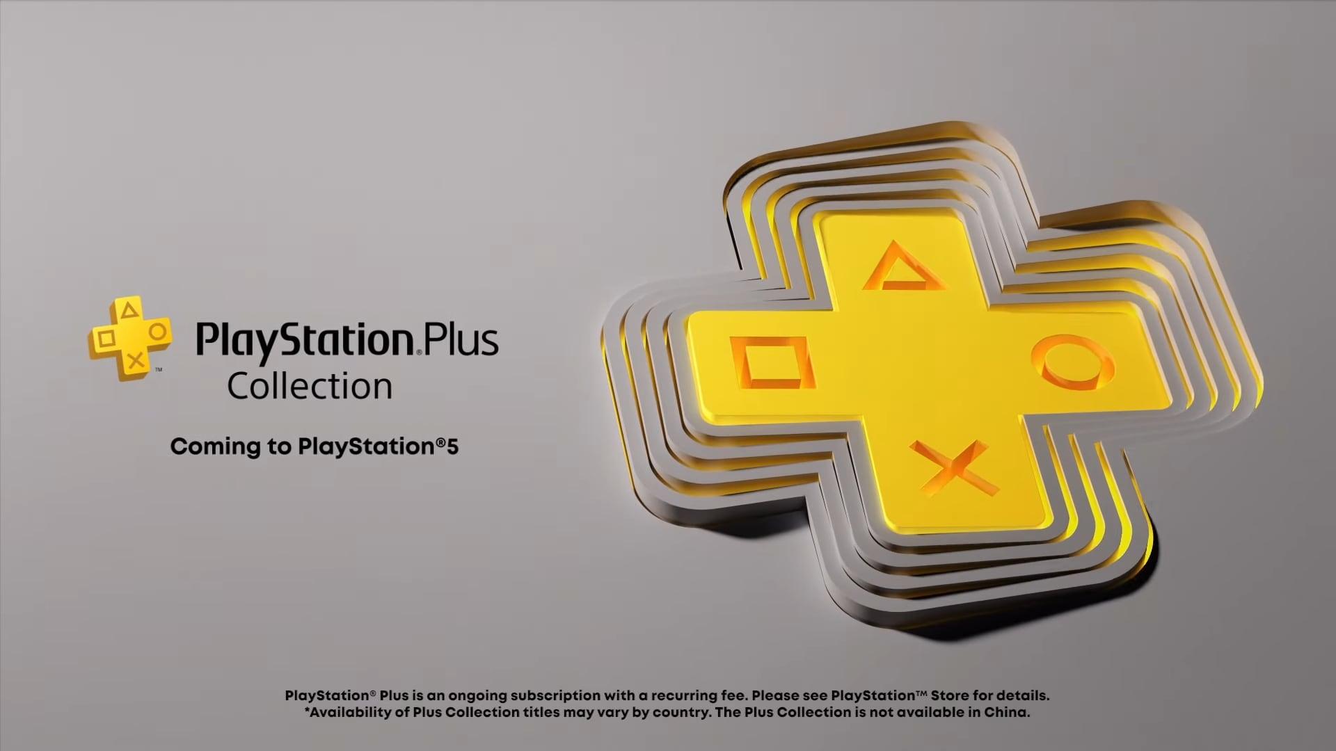 PS plus PS5 Giochi