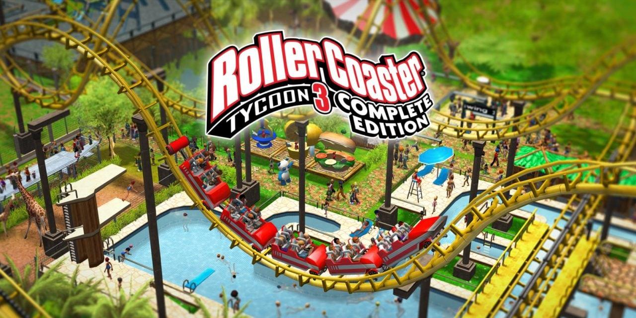 RollerCoaster Tycoon 3 gratis su Epic Games Store fino al 1° ottobre (video)