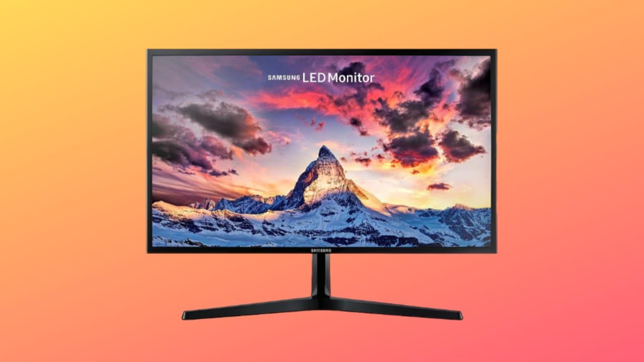 Monitor Samsung in sconto a meno di 120€: Full HD, 24 pollici e design semplice