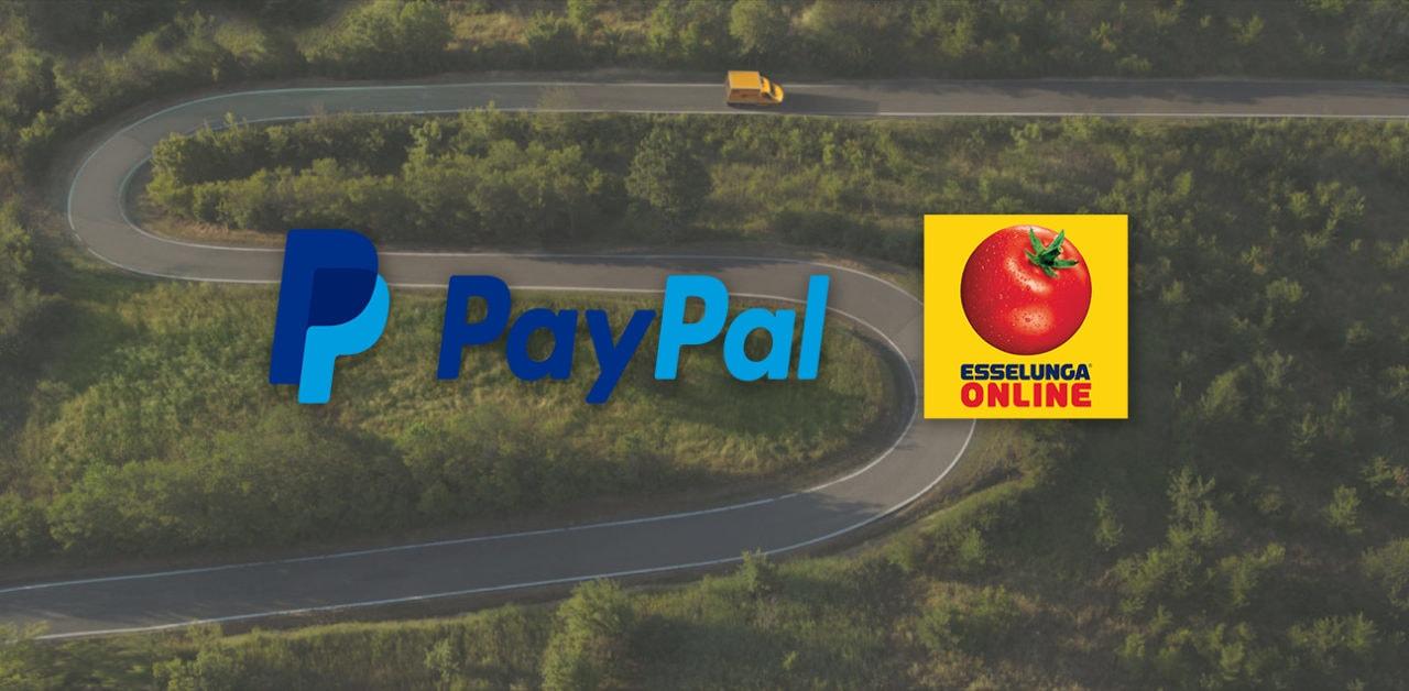 Sconto di 10€ per la spesa online di Esselunga con il coupon Paypal